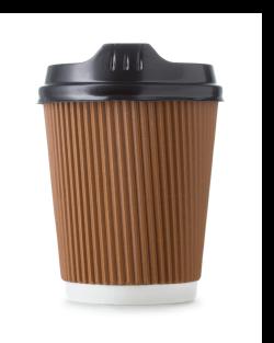 Kraft coffee cup