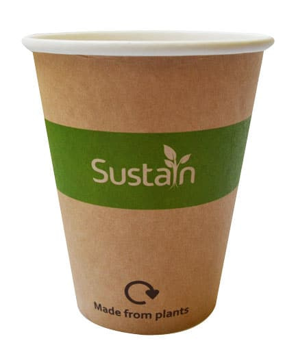 Paper cup for sustain