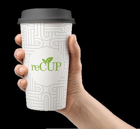 reCup printed cup